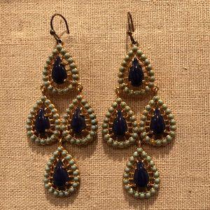 Stella & Dot Seychelles chandelier earrings